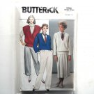 Jacket Vest Skirt Pants Misses Size 12 14 16 Vintage Butterick Sewing Pattern 6964
