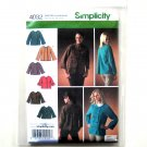 Misses Jackets Plus Size Simplicity Sewing Pattern 4082