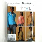 Misses Lined Jackets Threads Simplicity Sewing Pattern 4256