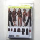 Misses Women Pants Skirt Top Knit Cardigan Simplicity Sewing Pattern 4503