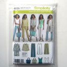Misses Pants Jacket Top Simplicity Sewing Pattern 4699