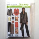 Misses Womens Top Skirt Pants Jacket Simplicity Sewing Pattern 4748