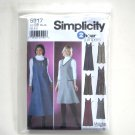 Misses Pullover Jumper Simplicity Sewing Pattern 5917