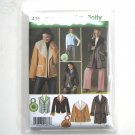Misses Coat Jackets Vest Simplicity Sewing Pattern 4356