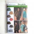 Misses Jackets Karen Z Design Simplicity Sewing Pattern 4082