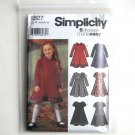 Girls 6 Dresses Made Easy Simplicity Sewing Pattern 5827