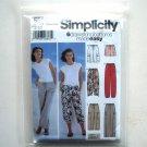 Misses Pants Drawstring Bottoms 14 16 18 20 Simplicity Sewing Pattern 5562