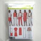 Shirt Knit Tank Dress Top Skirt Pants Simplicity Sewing Pattern 4992