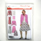 Misses Skirt Dress Top Jacket 8 10 12 14 Simplicity Sewing Pattern 4599