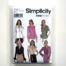 Misses Blouse 8 10 12 14 Simplicity Sewing Pattern 5801