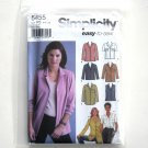 Misses Shirts Top 14 16 18 20 22 Simplicity Sewing Pattern 5455