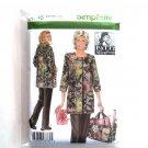 Misses Hobby Coat Pants Bag Plus L XL XXL Simplicity Sewing Pattern 4746