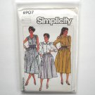 Blouse Top Skirt 10 12 14 Vintage Simplicity Sewing Pattern 6907