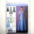 Special Occasion Dress Misses 14 16 18 20 22 Simplicity Sewing Pattern 2442