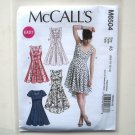 Misses Easy Dresses 6 8 10 12 14 Out Of Print McCalls Sewing Pattern M6504