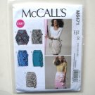 Misses Easy Skirts 12 14 16 18 20 Out Of Print McCalls Sewing Pattern M6471