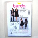 Dress Bolero 11 12 13 14 15 16 Burda Kids Sewing Pattern 9499
