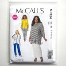 Misses Dolman Sleeve Tunics Skirt Pants 8 10 12 14 16 McCalls Sewing Pattern MP424