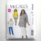 Womens Dolman Sleeve Tunics Skirt Pants 18W 20W 22W 24W McCalls Sewing Pattern MP424