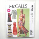 Misses Wrap Dresses 14 16 18 20 22 McCalls Sewing Pattern MP429