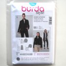 Misses Jacket Vest Burda Style Sewing Pattern 7006