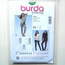 Misses Slim Pants 8 - 20 Burda Young Fashion Sewing Pattern 7141