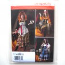 Misses Gypsy Costumes 14 16 18 20 22 Andrea Schewe Simplicity Sewing Pattern 2331