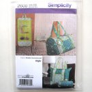 Womens Misses Quilted Travel Accessories Simplicity Sewing Pattern 2600