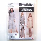 Womens Dresses 14 16 18 20 22 Simplicity Sewing Pattern S0914