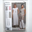 Misses Easy Tunics Pull On Pants 6 8 10 12 14 Simplicity Sewing Pattern S0683