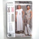 Easy Tunics Pull On Pants 14 16 18 20 22 Simplicity Sewing Pattern S0683