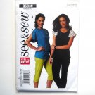 Misses Tops Easy All Sizes See & Sew Butterick Pattern B5838