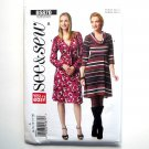 Misses Dress Easy Size 8 10 12 14 16 See & Sew Butterick Pattern B5870