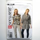 Misses Top Tunic Easy All Sizes See & Sew Butterick Pattern B5874