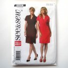 Misses Dress All Sizes Easy See & Sew Butterick Pattern B5938