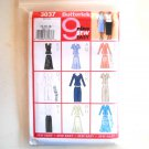 Misses Top Skirt Size 14 16 18 Butterick Pattern 3037