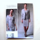 Jacket Skirt Top 4 - 12 Donna Karan Vogue Designer Sewing Pattern V1389