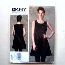 Dress 6 - 14 DKNY Donna Karan Vogue Designer Sewing Pattern V1408