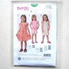 Girls Shirt Dress 2 3 4 5 6 7 Burda Kids Sewing Pattern 9390