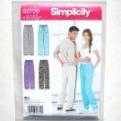 Unisex Activewear Pants Simplicity Sewing Pattern S0729