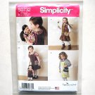 Girls Dolls Dresses Simplicity Sewing Pattern S0732
