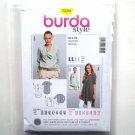 Misses Ladies Blouses Tops 10 - 22 Burda Style Sewing Pattern 7220