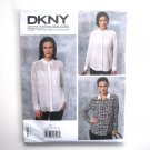Misses Shirt Camisole DKNY Donna Karan Vogue Designer Sewing Pattern V1462