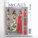 Misses Dress and Jumpsuit 6 8 10 12 McCalls Sewing Pattern MP219