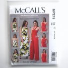Misses Dress Jumpsuit 12 14 16 18 McCalls Sewing Pattern MP219