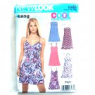 Junior Easy Summer Dresses Simplicity New Look Sewing Pattern 6369