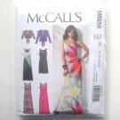 Misses Tie Front Jackets Tank Dresses L XL XXL McCalls Sewing Pattern M6559