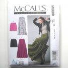 Misses Mini Maxi Skirts 12 14 16 18 20 McCalls Sewing Pattern M6608