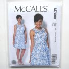 Womens Misses Sleeveless Dress 14 16 18 20 22 McCalls Sewing Pattern M7088