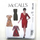 Misses Wrap Dresses 6 - 14 McCalls Sewing Pattern M7185